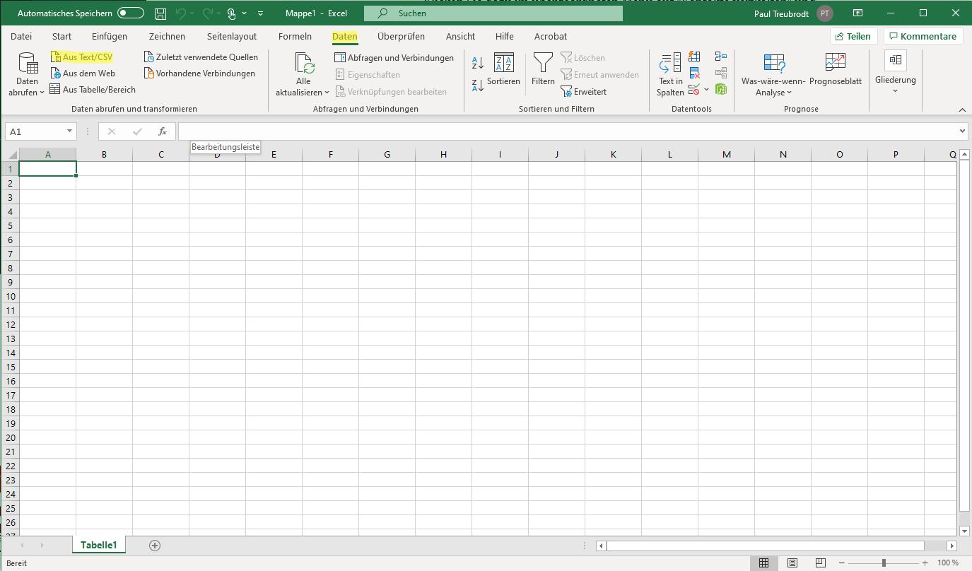 eMailChef Kontakte exportieren - CSV Kontaktliste in EXCEL liste umwandeln