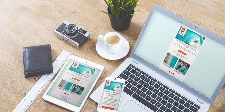 Aufbau und Gestaltung eines Newsletters