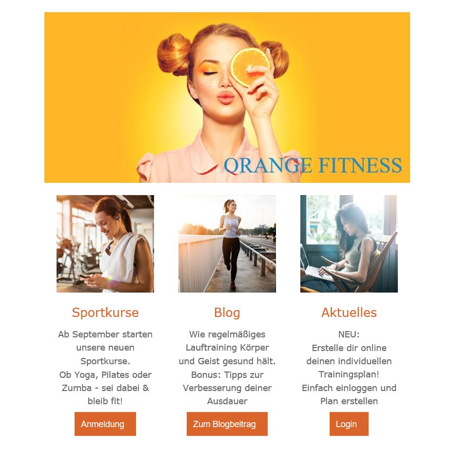 Beispiel Newsletter- Verein