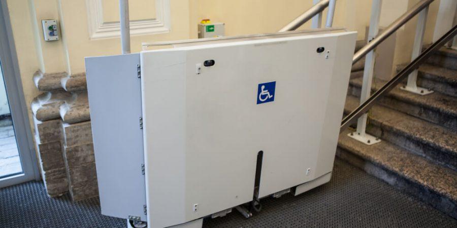Plattform-Lift TS Treppenlifte